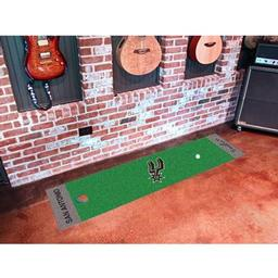 Click here to learn more about the San Antonio Spurs Putting Green Runner.