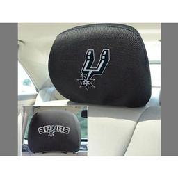 "Click here to learn more about the San Antonio Spurs Head Rest Cover 10""x13""."