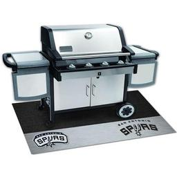 "Click here to learn more about the San Antonio Spurs Grill Mat 26""x42""."