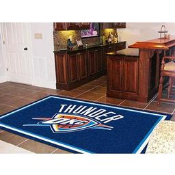 Click here to learn more about the Oklahoma City Thunder Rug 5''x8''.