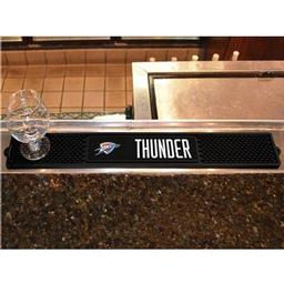 "Click here to learn more about the Oklahoma City Thunder Drink Mat 3.25""x24""."