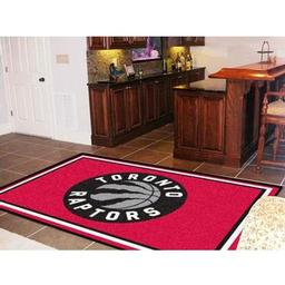Click here to learn more about the Toronto Raptors Rug 5''x8''.