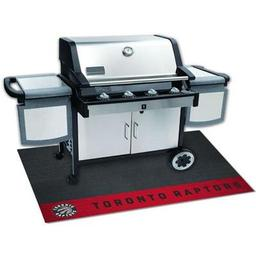 "Click here to learn more about the Toronto Raptors Grill Mat 26""x42""."