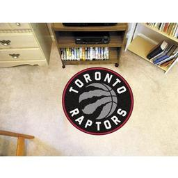 Click here to learn more about the Toronto Raptors Roundel Mat.