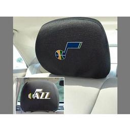 "Click here to learn more about the Utah Lazz Head Rest Cover 10""x13""."