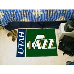 "Click here to learn more about the Utah Jazz Uniform Inspired Starter Rug 19""x30""."