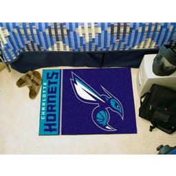 "Click here to learn more about the Charlotte Bobcats Uniform Inspired Starter Rug 19""x30""."