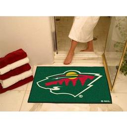 "Click here to learn more about the Minnesota Wild All-Star Mat 33.75""x42.5""."
