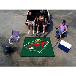 Click here to learn more about the Minnesota Wild Tailgater Rug 5''x6''.