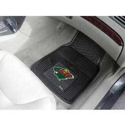 Click here to learn more about the Minnesota Wild 2-pc Vinyl Car Mat Set.