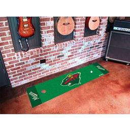 Click here to learn more about the Minnesota Wild Putting Green Mat.