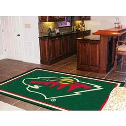 Click here to learn more about the Minnesota Wild Rug 5''x8''.