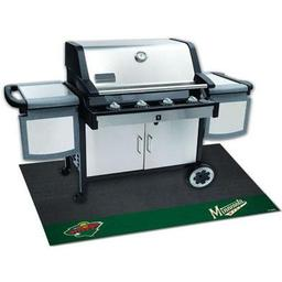 "Click here to learn more about the Minnesota Wild Grill Mat 26""x42""."