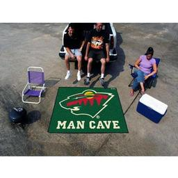 Click here to learn more about the Minnesota Wild Man Cave Tailgater Rug 5''x6''.