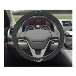 "Click here to learn more about the Minnesota Wild Steering Wheel Cover 15""x15""."