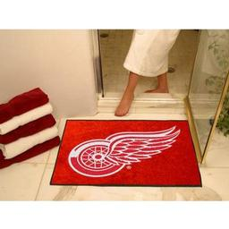 "Click here to learn more about the Detroit Red Wings All-Star Mat 33.75""x42.5""."