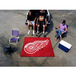 Click here to learn more about the Detroit Red Wings Tailgater Rug 5''x6''.