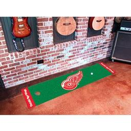 Click here to learn more about the Detroit Red Wings Putting Green Mat.
