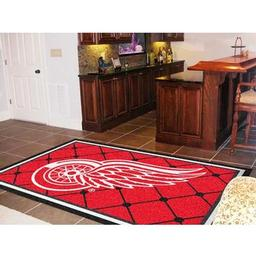 Click here to learn more about the Detroit Red Wings Rug 5''x8''.