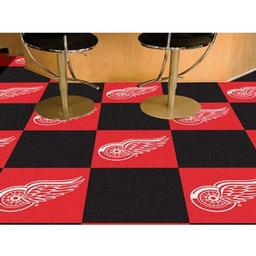 Click here to learn more about the Detroit Red Wings Team Carpet Tiles.