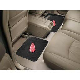 "Click here to learn more about the Detroit Red Wings Backseat Utility Mats 2 Pack 14""x17""."
