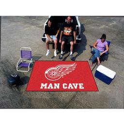 Click here to learn more about the Detroit Red Wings Man Cave UltiMat Rug 5''x8''.