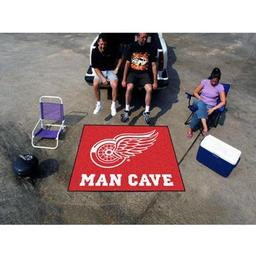 Click here to learn more about the Detroit Red Wings Man Cave Tailgater Rug 5''x6''.