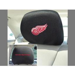 "Click here to learn more about the Detroit Red Wings Head Rest Cover 10""x13""."