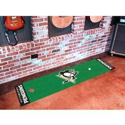 Click here to learn more about the Pittsburgh Penguins Putting Green Mat.