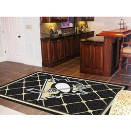 Click here to learn more about the Pittsburgh Penguins Rug 5''x8''.