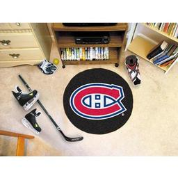 Click here to learn more about the Montreal Canadiens Puck Mat.