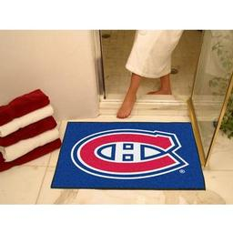 "Click here to learn more about the Montreal Canadiens All-Star Mat 33.75""x42.5""."
