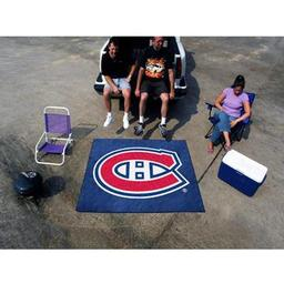 Click here to learn more about the Montreal Canadiens Tailgater Rug 5''x6''.