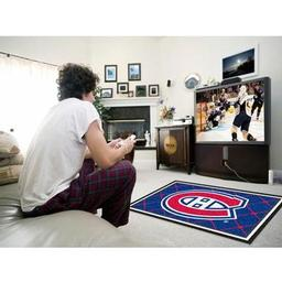 Click here to learn more about the Montreal CanadiensRug 4''x6''.