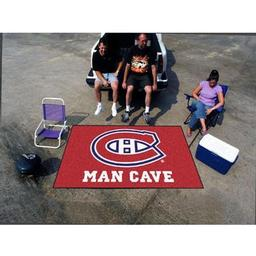 Click here to learn more about the Montreal Canadiens Man Cave UltiMat Rug 5''x8''.