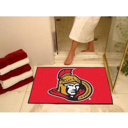 "Click here to learn more about the Ottawa Senators All-Star Mat 33.75""x42.5""."
