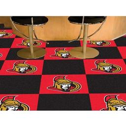 Click here to learn more about the Ottawa Senators Team Carpet Tiles.