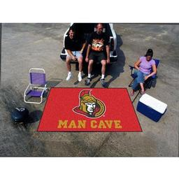 Click here to learn more about the Ottawa Senators Man Cave UltiMat Rug 5''x8''.