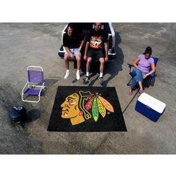 Click here to learn more about the Chicago Blackhawks Tailgater Rug 5''x6''.