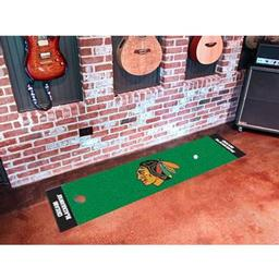 Click here to learn more about the Chicago Blackhawks Putting Green Mat.