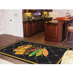 Click here to learn more about the Chicago Blackhawks Rug 5''x8''.