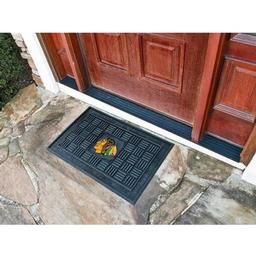 Click here to learn more about the Chicago Blackhawks Medallion Door Mat.