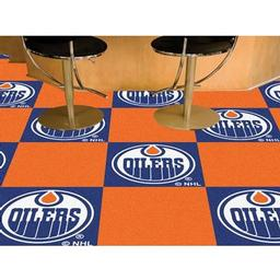 Click here to learn more about the Edmonton Oilers Team Carpet Tiles.