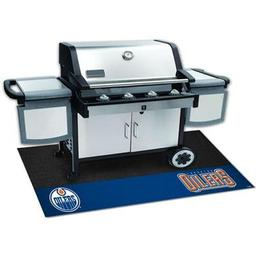 "Click here to learn more about the Edmonton Oilers Grill Mat 26""x42""."