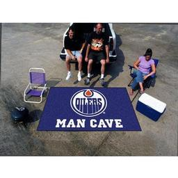 Click here to learn more about the Edmonton Oilers Man Cave UltiMat Rug 5''x8''.