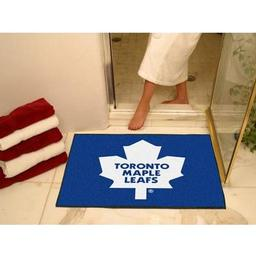"Click here to learn more about the Toronto Maple Leafs All-Star Mat 33.75""x42.5""."