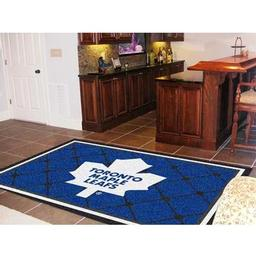 Click here to learn more about the Toronto Maple Leafs Rug 5''x8''.