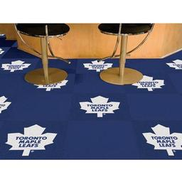 Click here to learn more about the Toronto Maple Leafs Team Carpet Tiles.