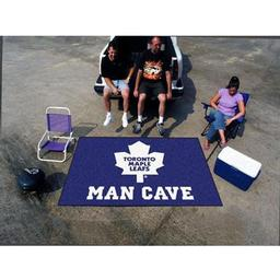 Click here to learn more about the Toronto Maple Leafs Man Cave UltiMat Rug 5''x8''.