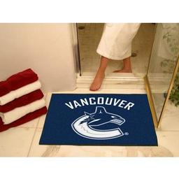 "Click here to learn more about the Vancouver Canucks All-Star Mat 33.75""x42.5""."